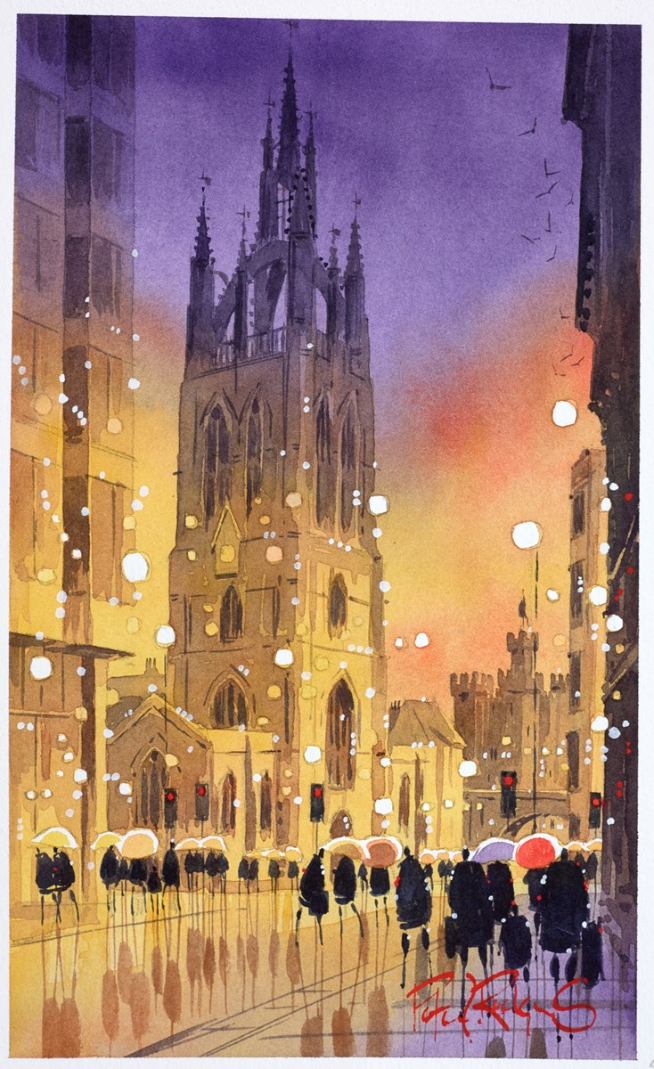 Cathedral Drizzle, Newcastle